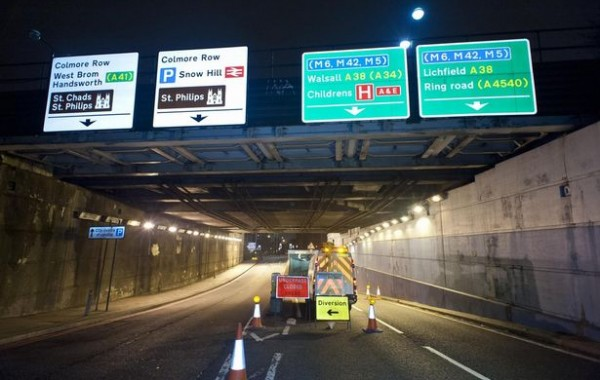 St Chads Tunnels, The Highways Agency  – Fire Fighting Foam Inlet Systems