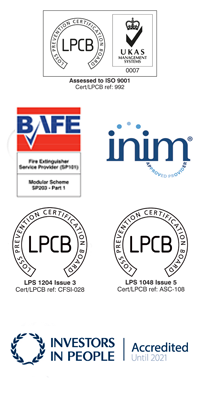 Spectrum Fire Protection Accreditations